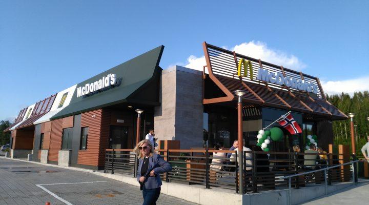 McDonald's Morenen har åpnet